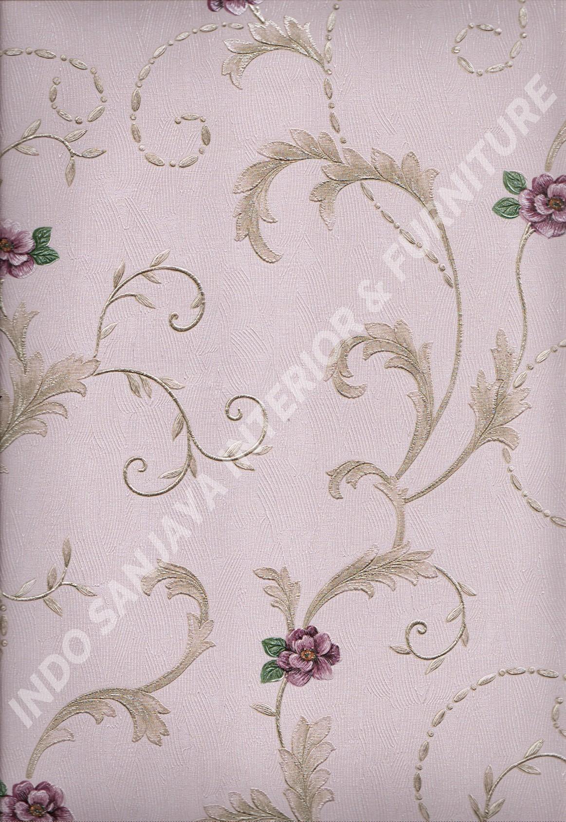 wallpaper   Wallpaper Bunga 8814:8814 corak  warna