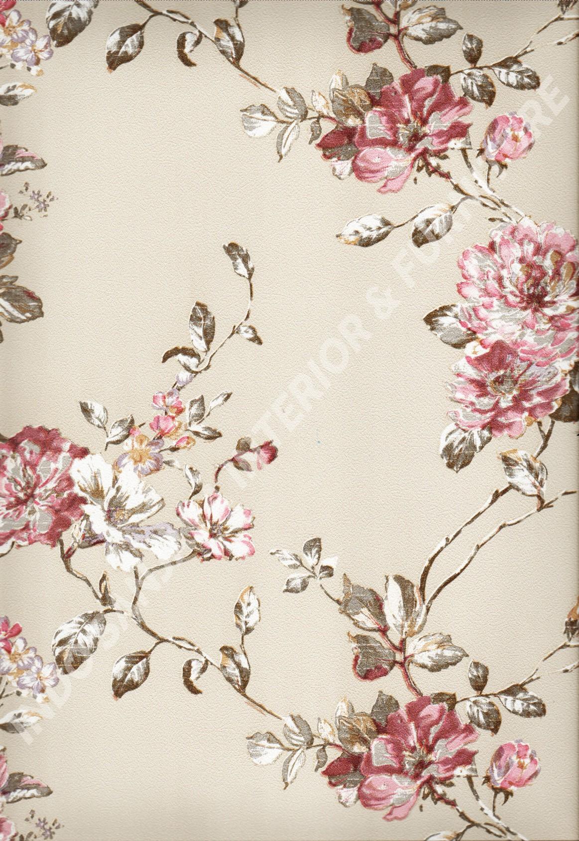 wallpaper   Wallpaper Bunga 8815:8815 corak  warna