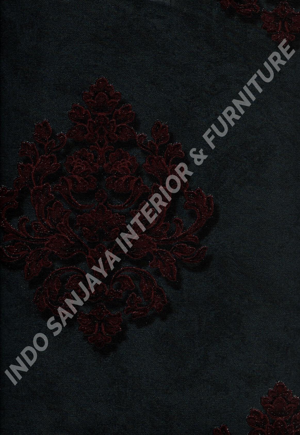wallpaper   Wallpaper Klasik Batik (Damask) 81083-8:81083-8 corak  warna