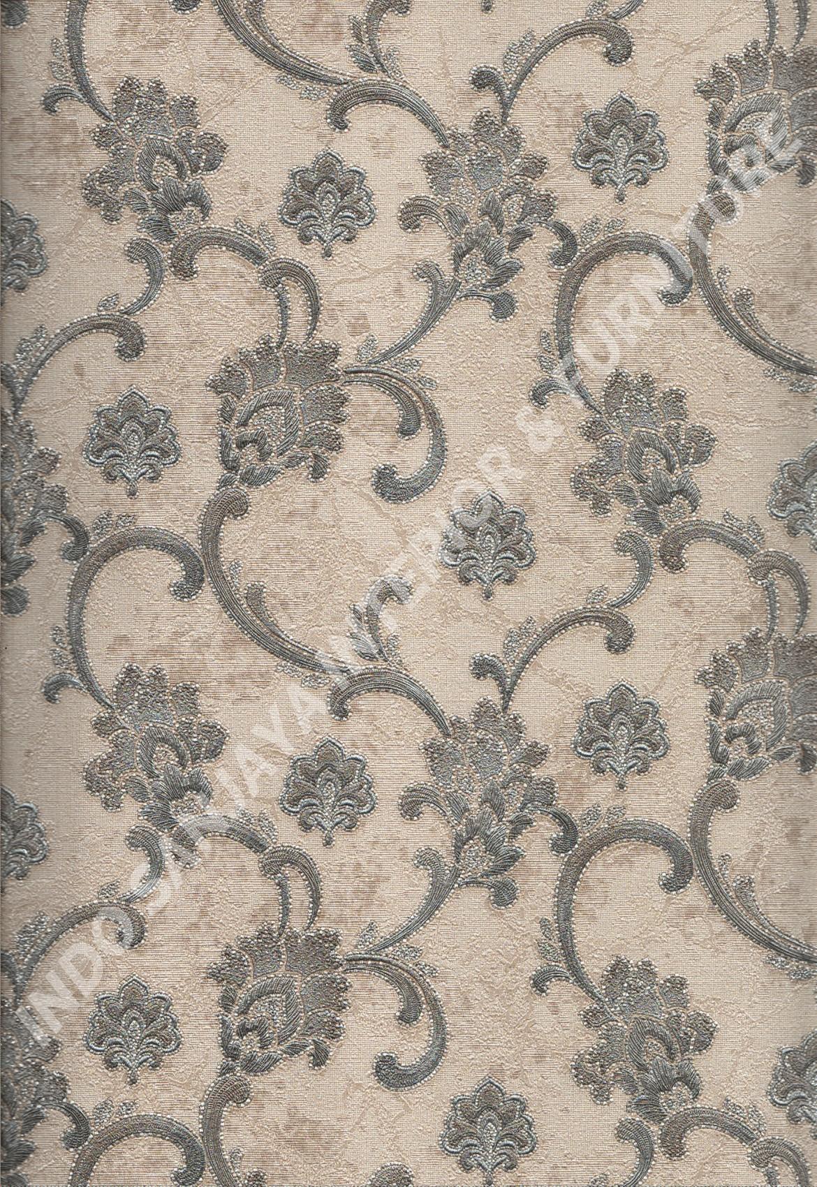 wallpaper   Wallpaper Klasik Batik (Damask) 81126-5:81126-5 corak  warna