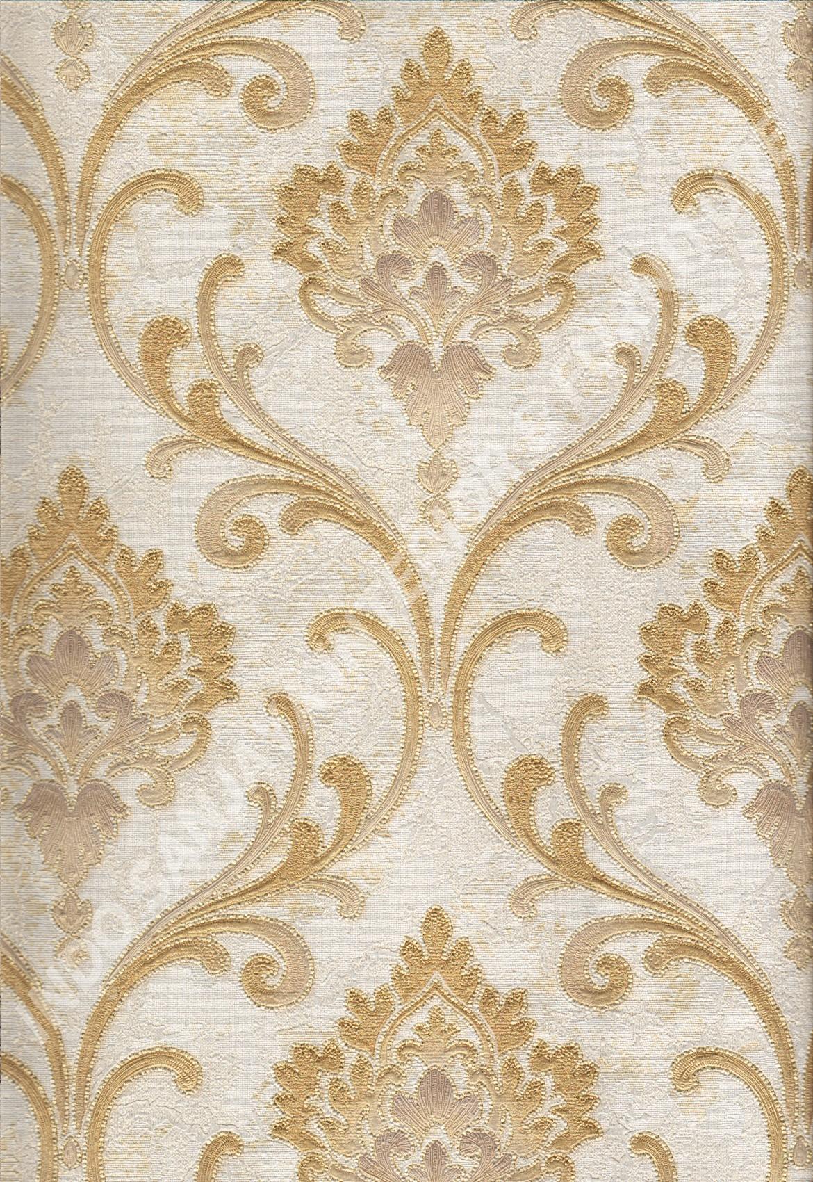 wallpaper   Wallpaper Klasik Batik (Damask) 81127-3:81127-3 corak  warna