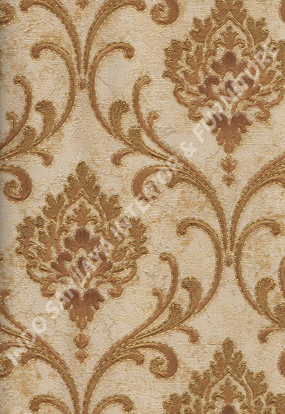 wallpaper   Wallpaper Klasik Batik (Damask) 81127-6:81127-6 corak  warna