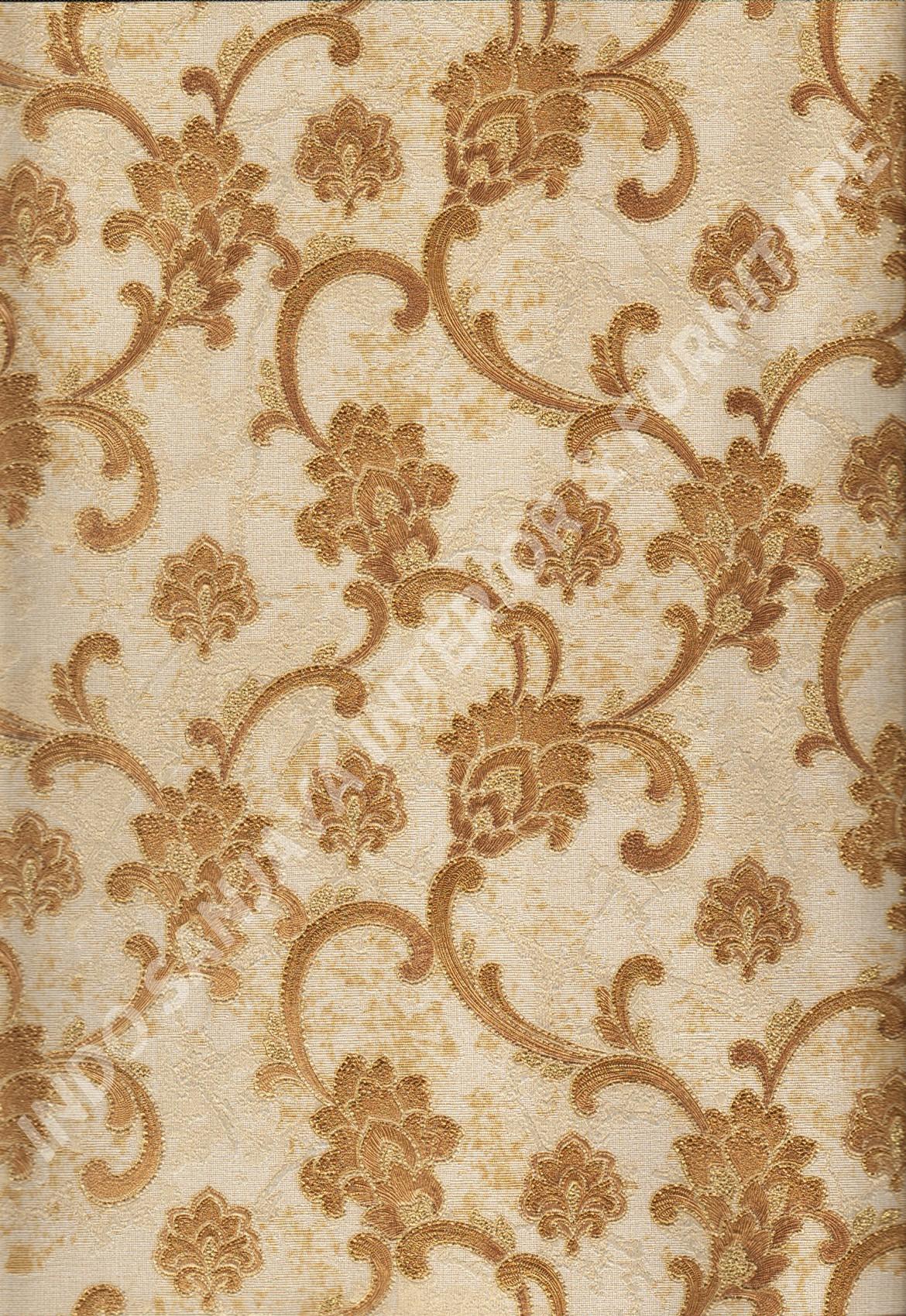 wallpaper   Wallpaper Klasik Batik (Damask) 81126-6:81126-6 corak  warna