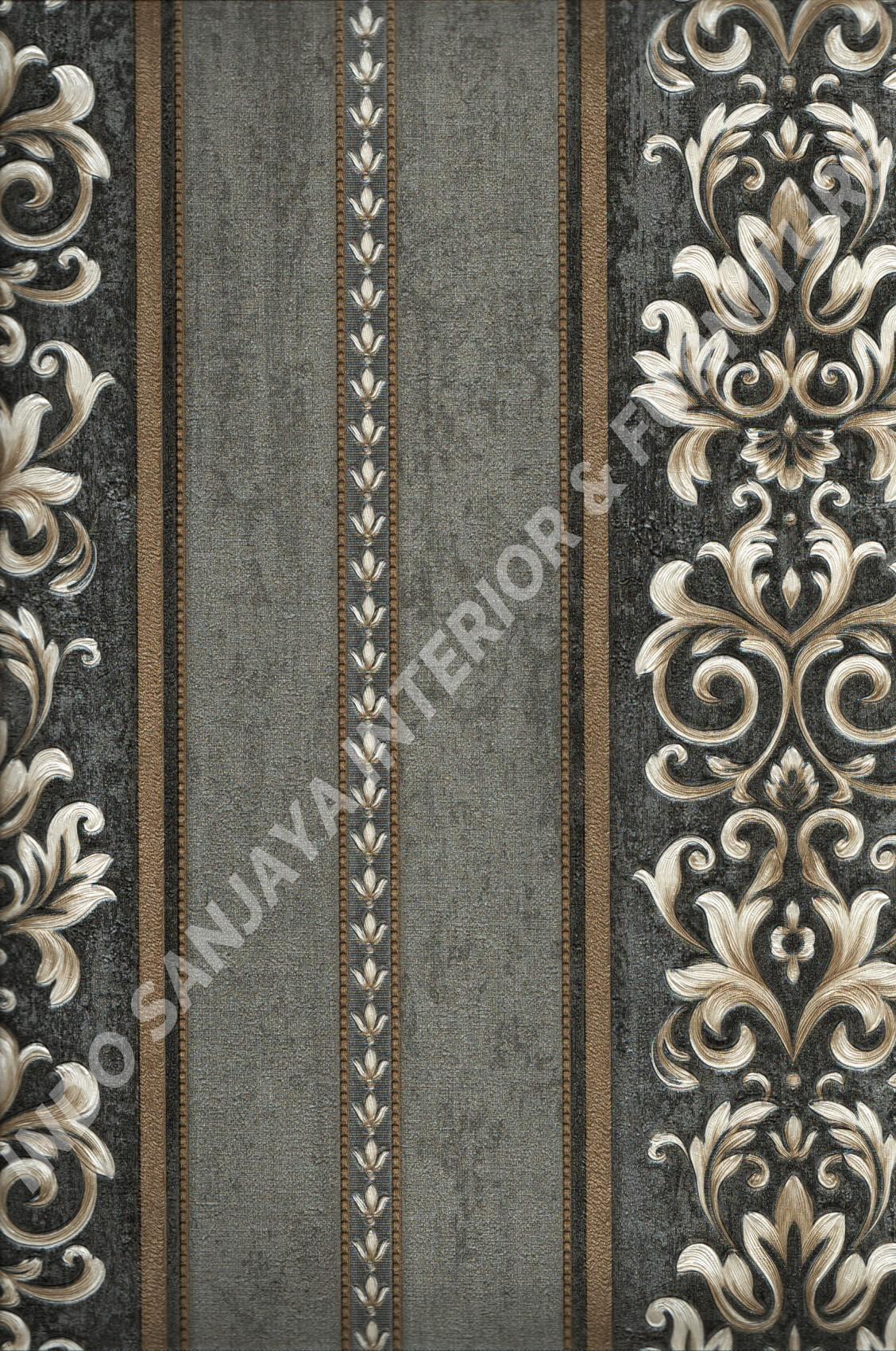 wallpaper   Wallpaper Klasik Batik (Damask) YG80605:YG80605 corak  warna