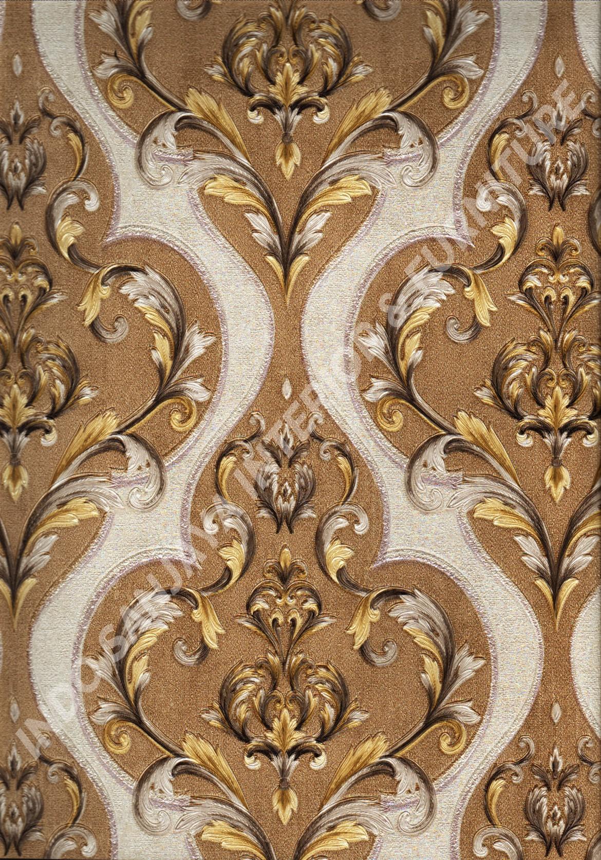 wallpaper   Wallpaper Klasik Batik (Damask) YG71105:YG71105 corak  warna