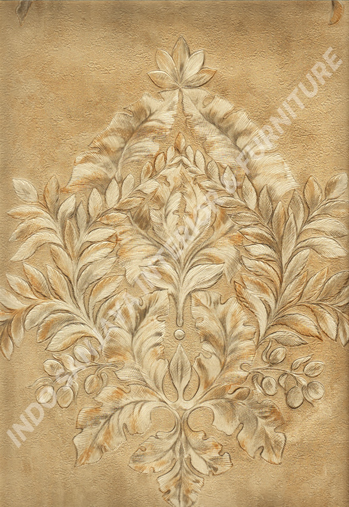 wallpaper   Wallpaper Klasik Batik (Damask) YG70104:YG70104 corak  warna
