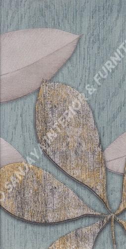 wallpaper   Wallpaper Daun Daunan BL2234:BL2234 corak  warna