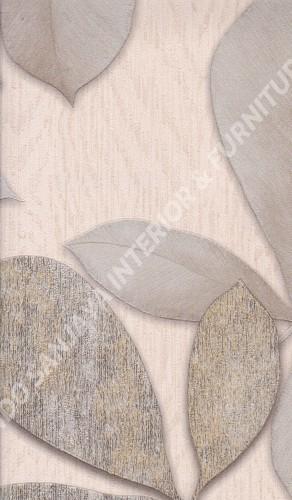 wallpaper   Wallpaper Daun Daunan BL2233:BL2233 corak  warna