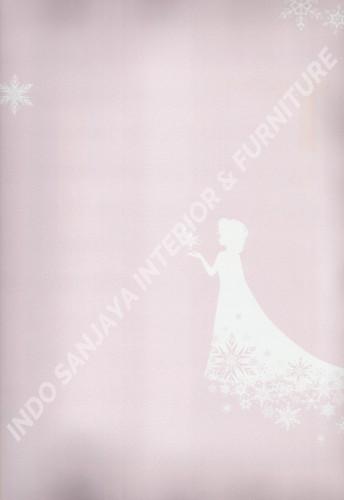wallpaper DREAM WORLD:D5076-1 corak Anak warna Pink