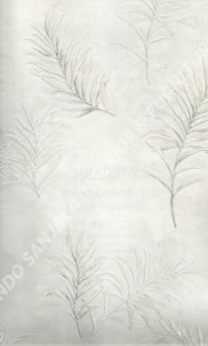 wallpaper MELBOURNE:HR-16005 corak Bunga warna Abu-Abu