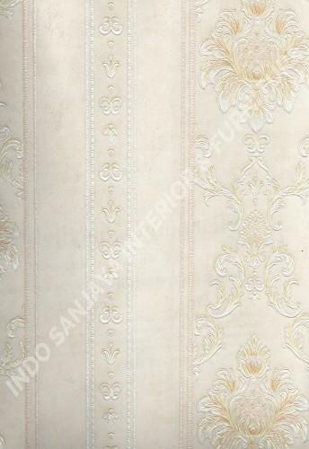 wallpaper   Wallpaper Klasik Batik (Damask) HR-16161:HR-16161 corak  warna