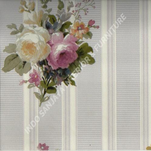 wallpaper   Wallpaper Bunga 70022-1:70022-1 corak  warna