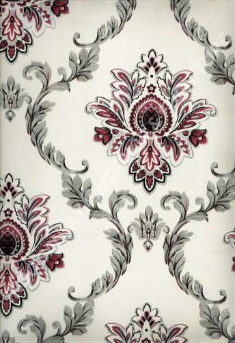 wallpaper   Wallpaper Klasik Batik (Damask) L444-09:L444-09 corak  warna