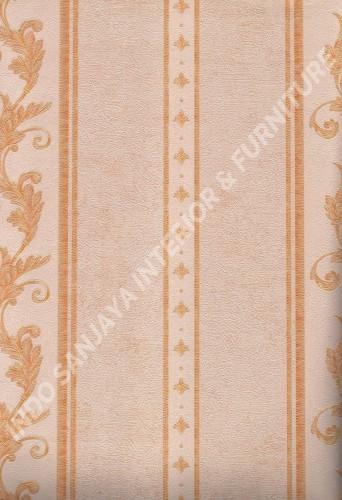 wallpaper   Wallpaper Klasik Batik (Damask) L444-12:L444-12 corak  warna