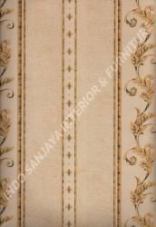 wallpaper LEVANTE:L444-16 corak Klasik / Batik (Damask) warna Coklat