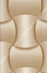 wallpaper LEVANTE:L444-01 corak Modern / 3D warna Cream,Coklat