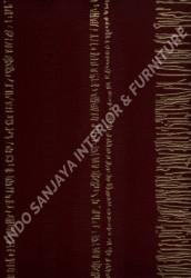 wallpaper LEVANTE:L444-38 corak Klasik / Batik (Damask) warna Merah