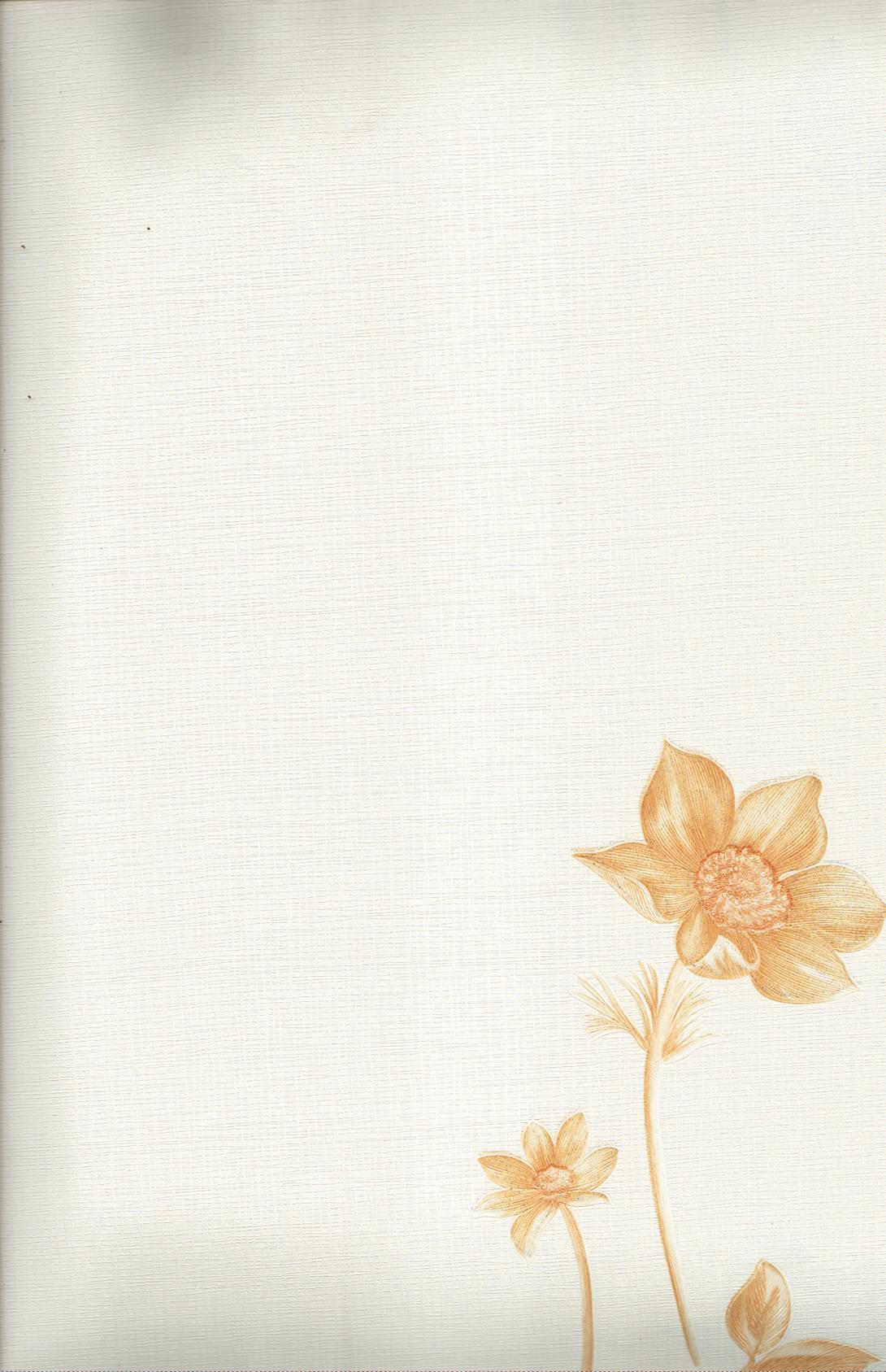wallpaper LEVANTE:L444-62 corak Bunga warna Abu-Abu