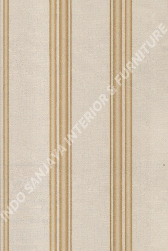 wallpaper LEVANTE:L444-68 corak Garis warna Abu-Abu ,Cream