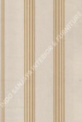wallpaper LEVANTE:L444-68 corak Garis warna Abu-Abu,Cream