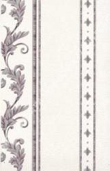 wallpaper LEVANTE:L444-08 corak Klasik / Batik (Damask) warna Putih,Abu-Abu