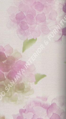 wallpaper   Wallpaper Bunga 23901:23901 corak  warna