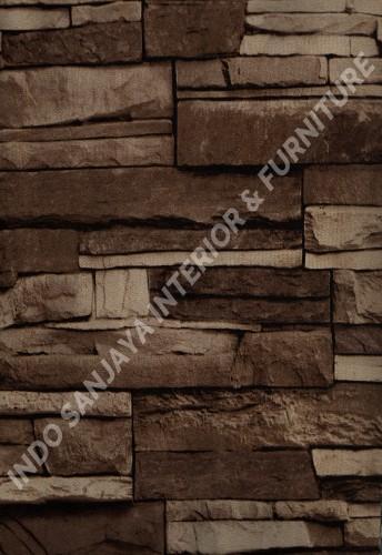 wallpaper   Wallpaper Batu-Batuan 723-3:723-3 corak  warna