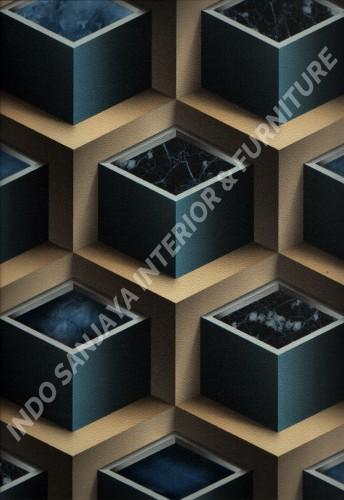 wallpaper   Wallpaper Modern 3D 703-3:703-3 corak  warna