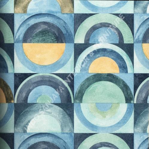 wallpaper   Wallpaper Bulat Geometri 318112:318112 corak  warna