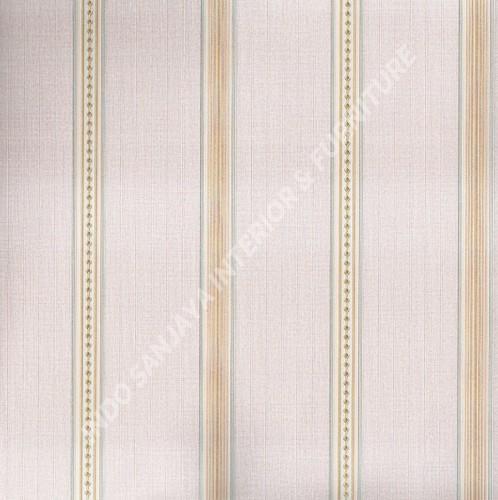 wallpaper   Wallpaper Garis 6104-3:6104-3 corak  warna