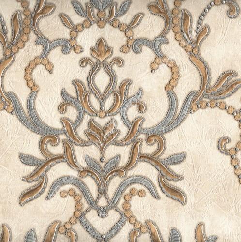 wallpaper   Wallpaper Klasik Batik (Damask) 99090602:99090602 corak  warna