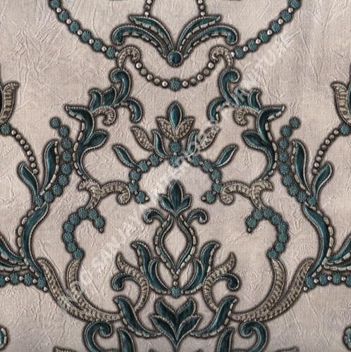 wallpaper   Wallpaper Klasik Batik (Damask) 99090605:99090605 corak  warna