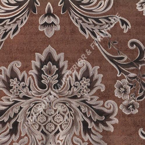 wallpaper   Wallpaper Klasik Batik (Damask) 61-056:61-056 corak  warna