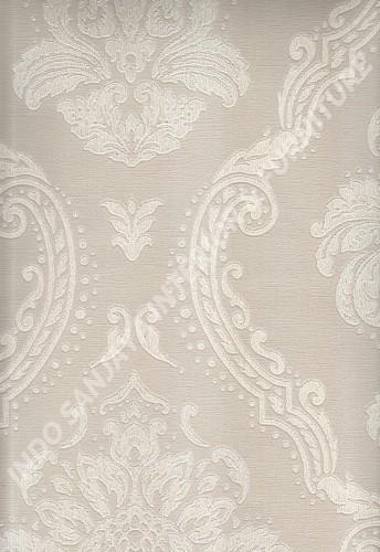 wallpaper   Wallpaper Klasik Batik (Damask) 290201:290201 corak  warna