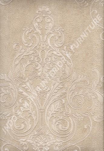 wallpaper   Wallpaper Klasik Batik (Damask) 292003:292003 corak  warna