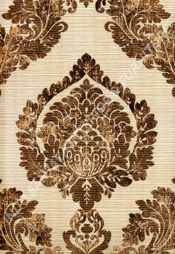 wallpaper   Wallpaper Klasik Batik (Damask) 8271-4:8271-4 corak  warna