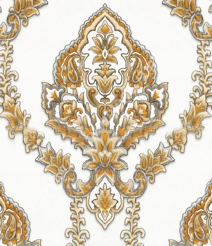 wallpaper   Wallpaper Klasik Batik (Damask) B-2506:B-2506 corak  warna