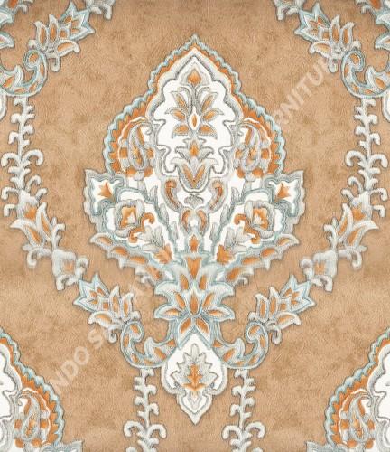 wallpaper   Wallpaper Klasik Batik (Damask) B-2507:B-2507 corak  warna