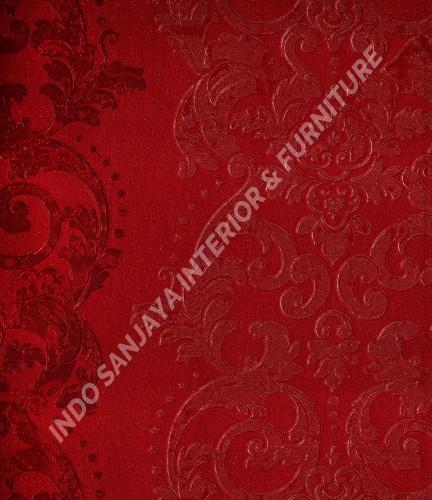 wallpaper   Wallpaper Klasik Batik (Damask) B-2510:B-2510 corak  warna