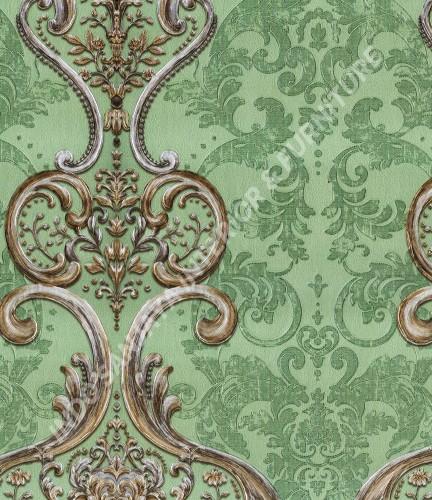 wallpaper   Wallpaper Klasik Batik (Damask) B-2514:B-2514 corak  warna