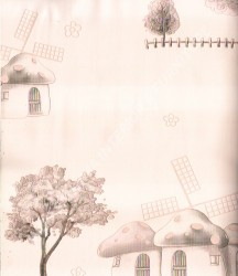 wallpaper SUNSHINE BOY-2:SE1704 corak Anak warna Putih