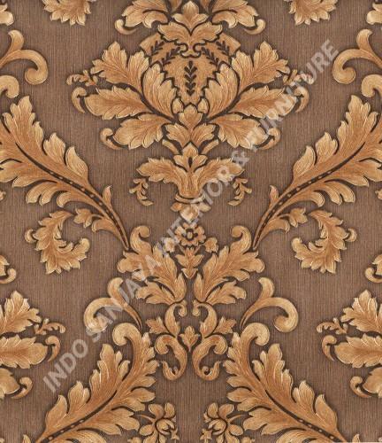 wallpaper   Wallpaper Klasik Batik (Damask) 360006:360006 corak  warna