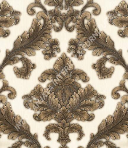 wallpaper   Wallpaper Klasik Batik (Damask) 360003:360003 corak  warna