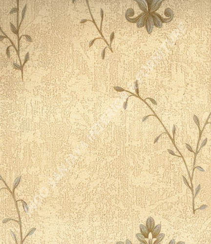 wallpaper   Wallpaper Bunga MD8035:MD8035 corak  warna