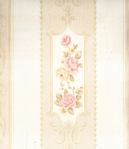 wallpaper   Wallpaper Bunga MD7360:MD7360 corak  warna