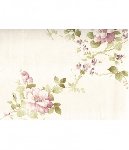 wallpaper   Wallpaper Bunga MD7333:MD7333 corak  warna