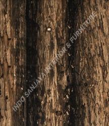 wallpaper MADONA:MD6013 corak Kayu / Bambu warna Abu-Abu