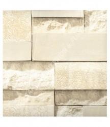 wallpaper MADONA:MD3160 corak Klasik / Batik (Damask),Batu-Batuan warna Cream