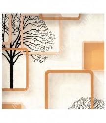 wallpaper MADONA:MD6132 corak Minimalis / Polos warna Putih