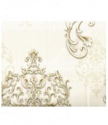 wallpaper MADONA:MD3511 corak Klasik / Batik (Damask) warna Putih